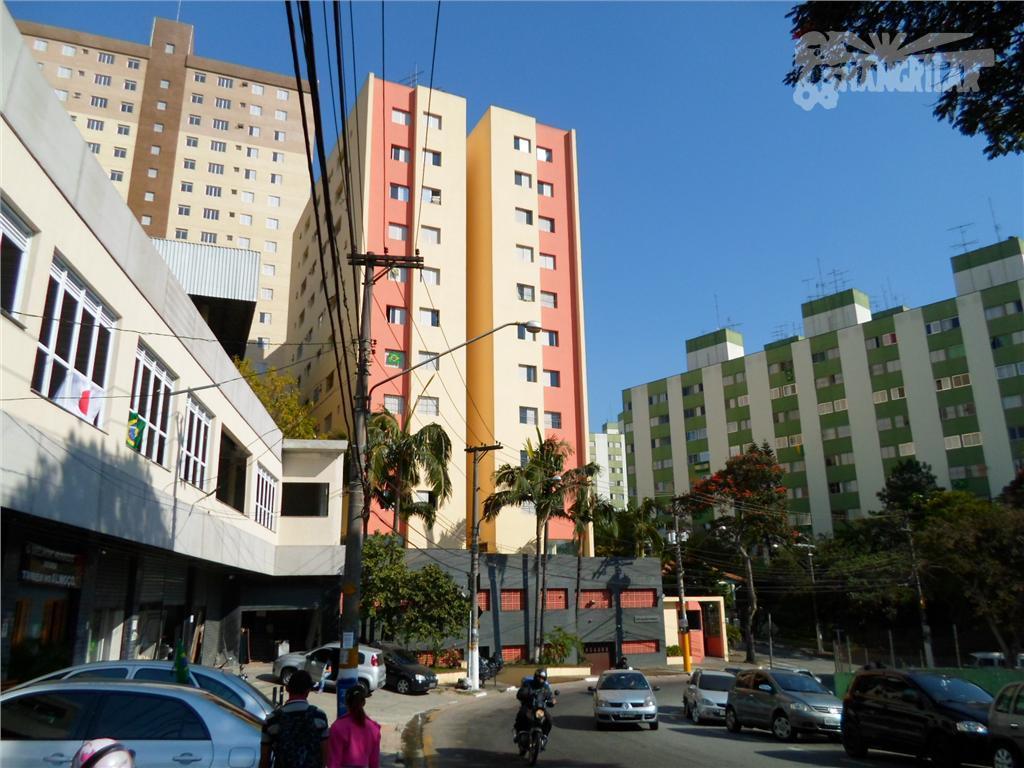 Apartamento residencial à venda, Vila Diadema, Diadema.