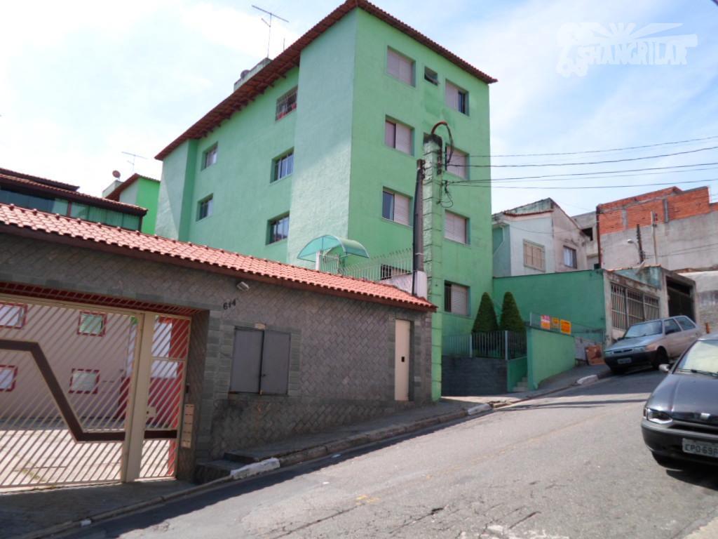 Apartamento residencial à venda, Vila Santa Luzia, São Bernardo do Campo.
