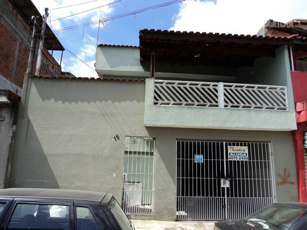 Casa residencial 3 cômodos para locação, Casa Grande, Diadema - CA0043.