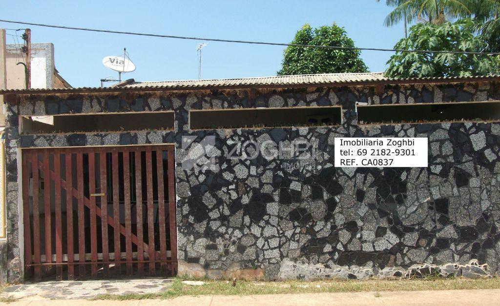 Casa  residencial à venda, Ulysses Guimarães, Porto Velho.