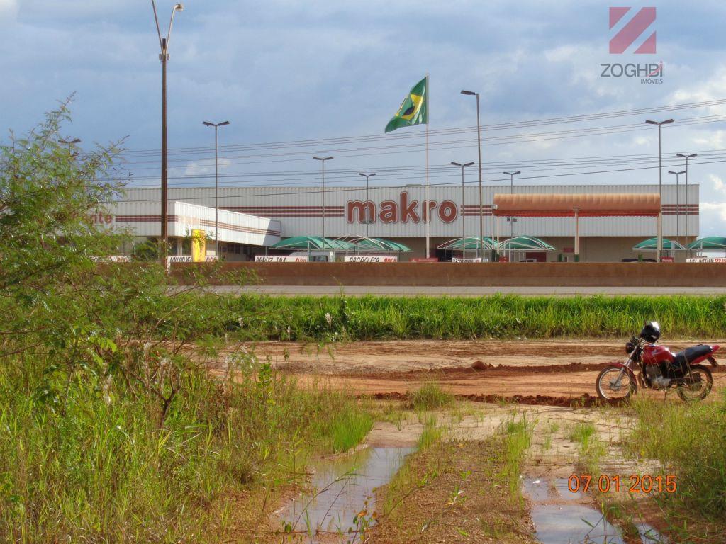 Terreno comercial para locação, Gleba, Porto Velho.