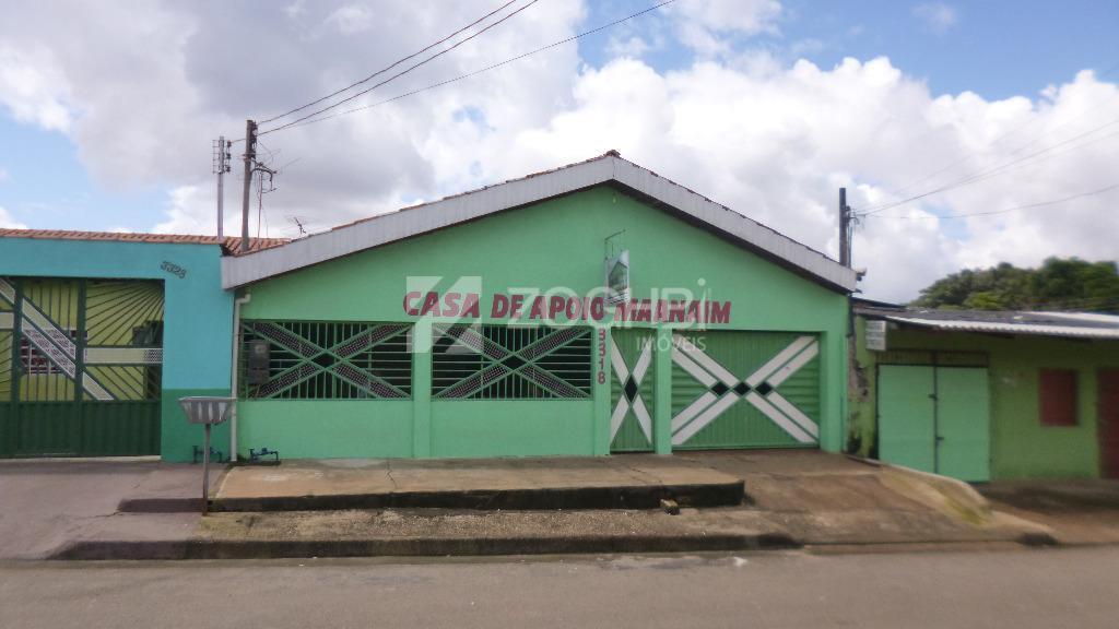 Casa de apoio para locação, próximo do Hospital de Base Costa e Silva, Porto Velho.