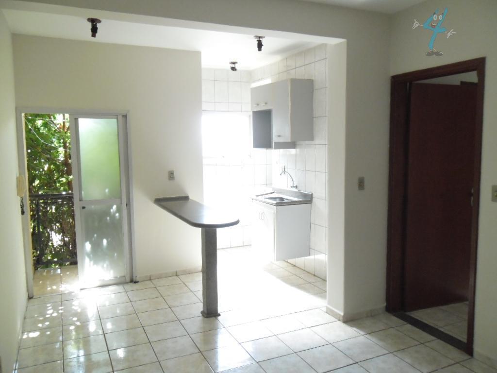 Apartamento  residencial para locação, Jardim Paulista, Araçatuba.