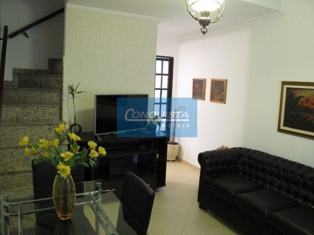 Sobrado residencial à venda, Vila Mariza, São Bernardo do Campo.