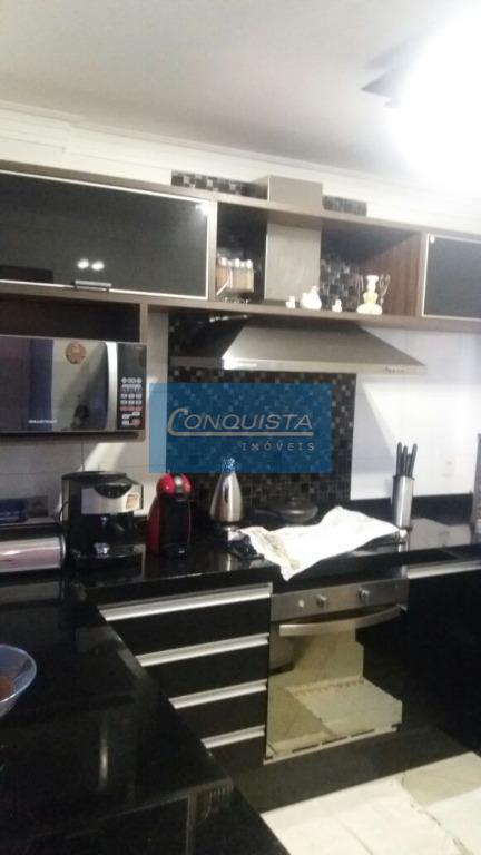 apartamento, centro, são bernardo do campo: 2 suítes, todo mobiliado, cozinha com planejados, geladeira, forno, cooktop...