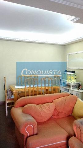 Apartamento residencial à venda, Vila Camilópolis, Santo André.