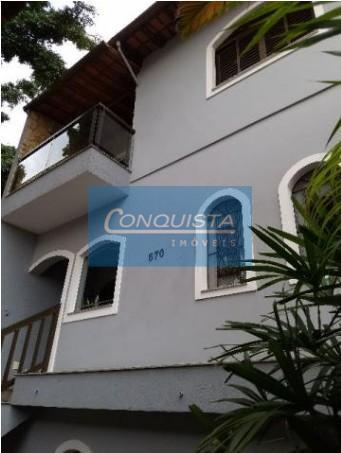 Sobrado residencial para venda e locação, Vila Valparaíso, Santo André.