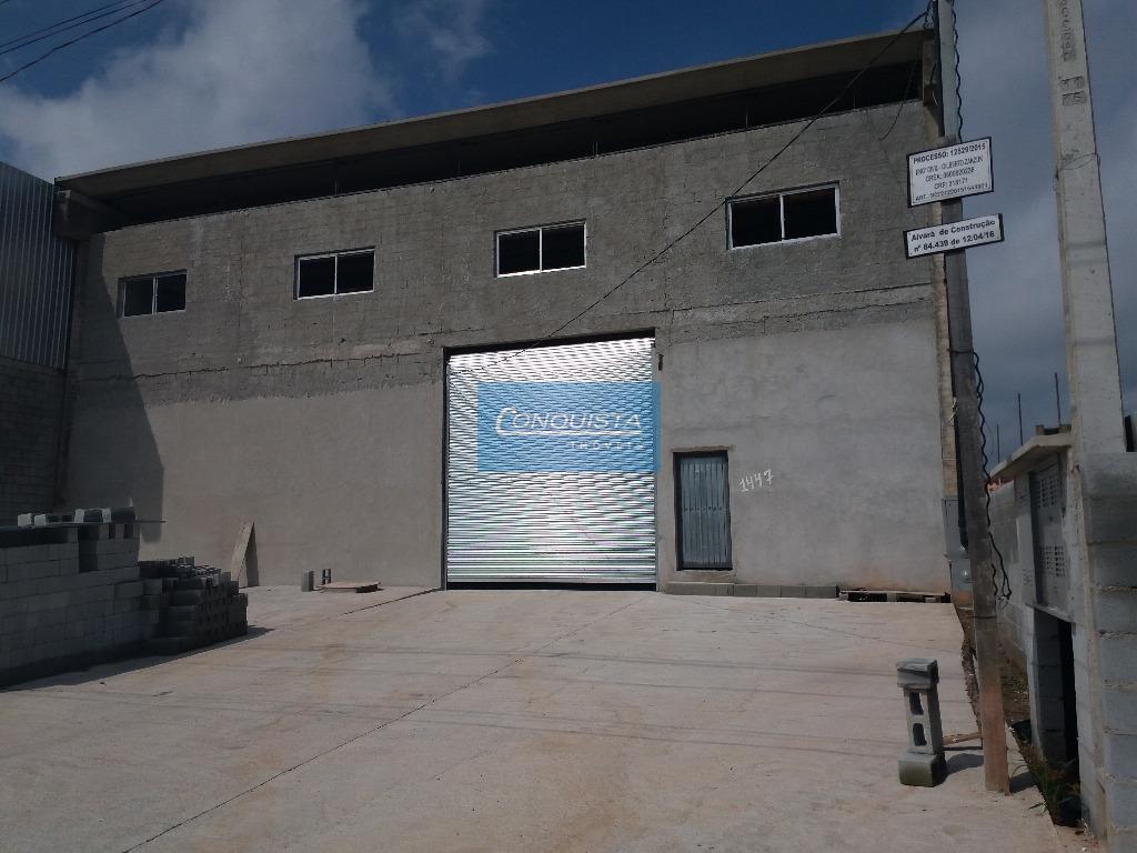 Galpão industrial para venda e locação, Loteamento Industrial Coral, Mauá.