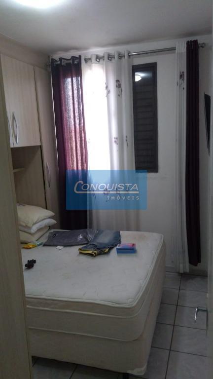 lindo apartamento mobiliado parque das nações santo andré2 dorm. com armários, sala 2 ambientes com piso...