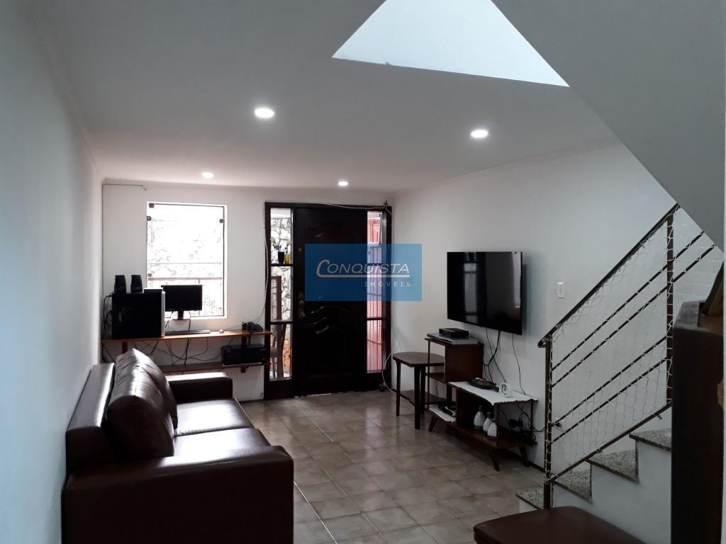 Sobrado residencial à venda, Conjunto Residencial Jussara, São Bernardo do Campo.