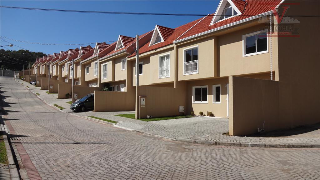 Sobrado novo, à venda, Barreirinha, Curitiba - SO0102.