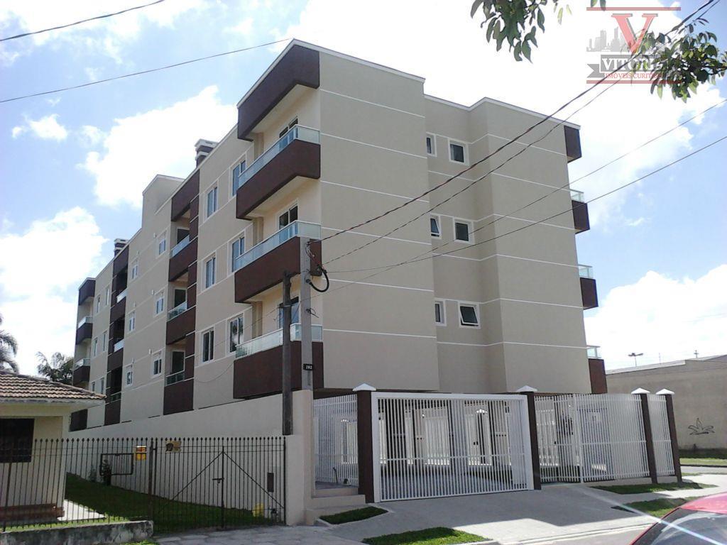 Apartamento residencial à venda, São Pedro, São José dos Pinhais - AP0378.