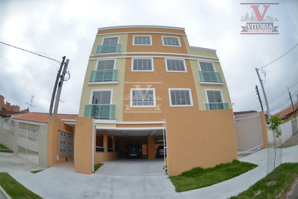 Apartamento residencial à venda, Afonso Pena, São José dos Pinhais - AP0404.