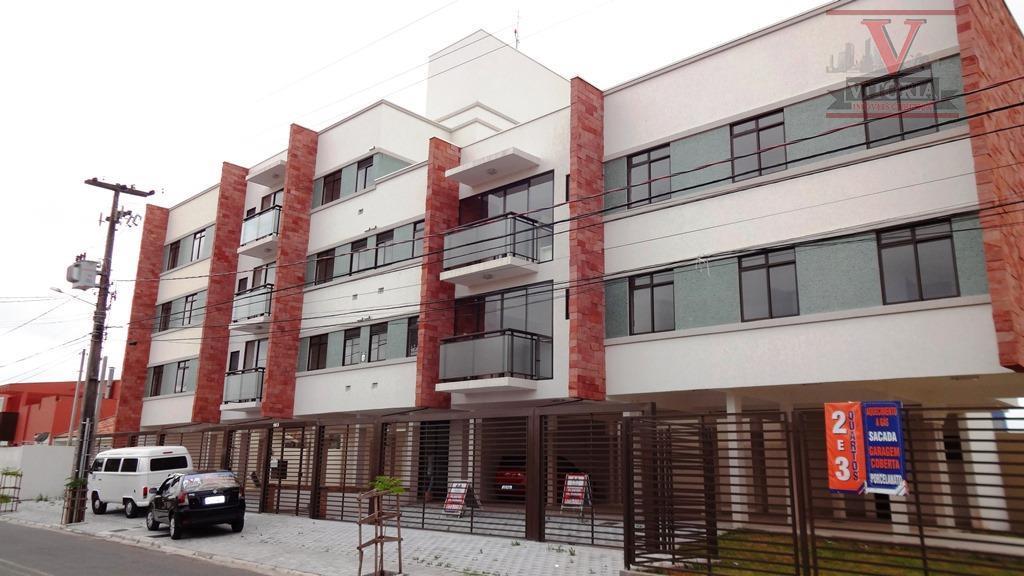 Apartamento residencial à venda, Afonso Pena, São José dos Pinhais - AP0424.