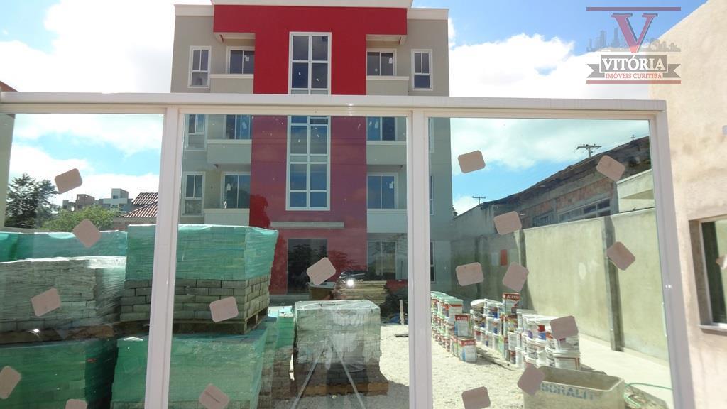 Apartamento residencial à venda, Afonso Pena, São José dos Pinhais - AP0430.