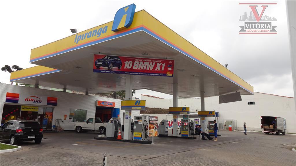 Ponto  comercial - Posto de Gasolina à venda, Sítio Cercado, Curitiba.