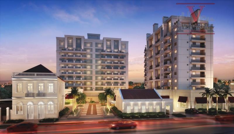 Apartamento residencial à venda, Batel, Curitiba - AP0580.