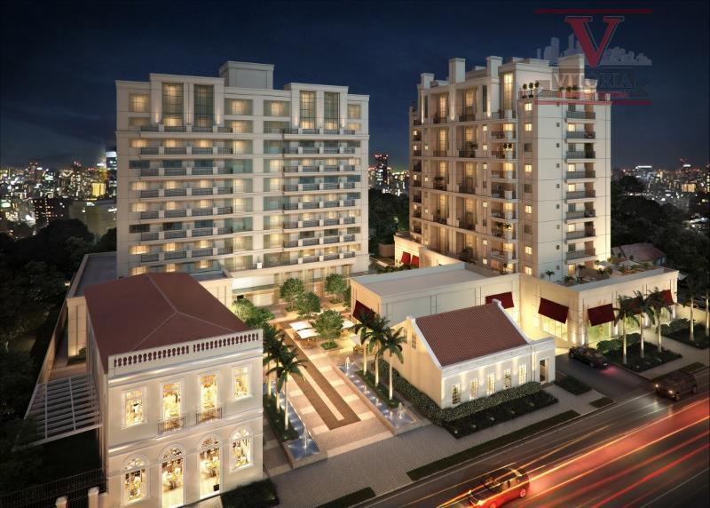 Apartamento residencial à venda, Batel, Curitiba - AP0581.