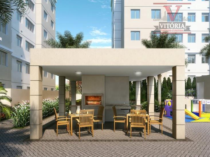 Apartamento residencial à venda, Cajuru, Curitiba - AP0596.