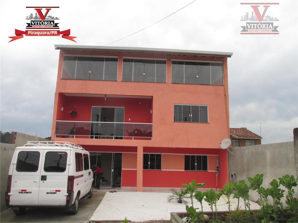 Sobrado 266m² à venda, Jardim Bela Vista, Piraquara.   (estuda permuta / troca)