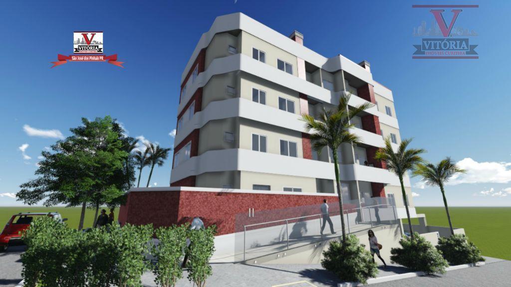 Apartamento à venda, São Domingos, São José dos Pinhais - AP0671.