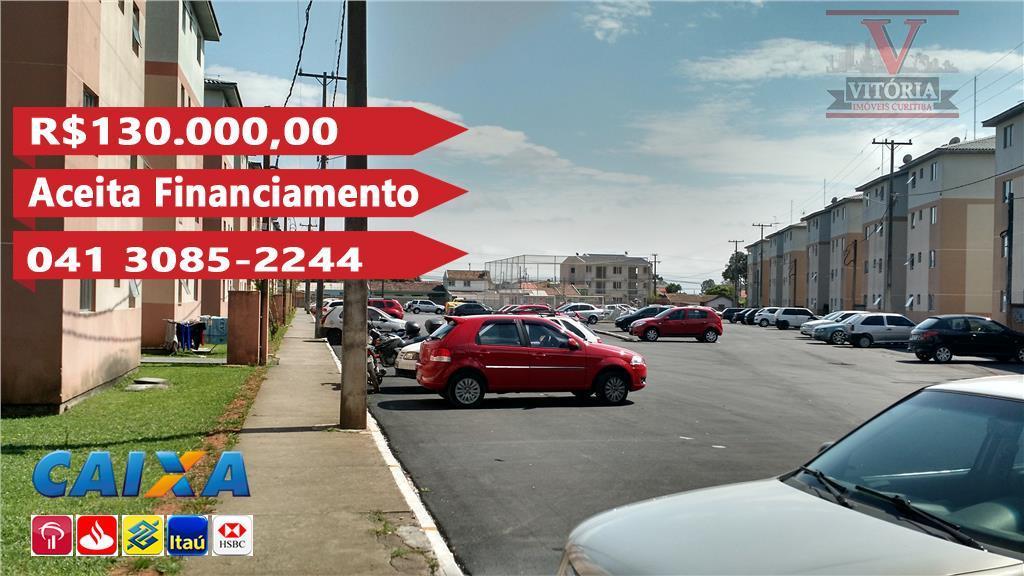 Apartamento residencial à venda, Ouro Fino, São José dos Pinhais - AP0679.