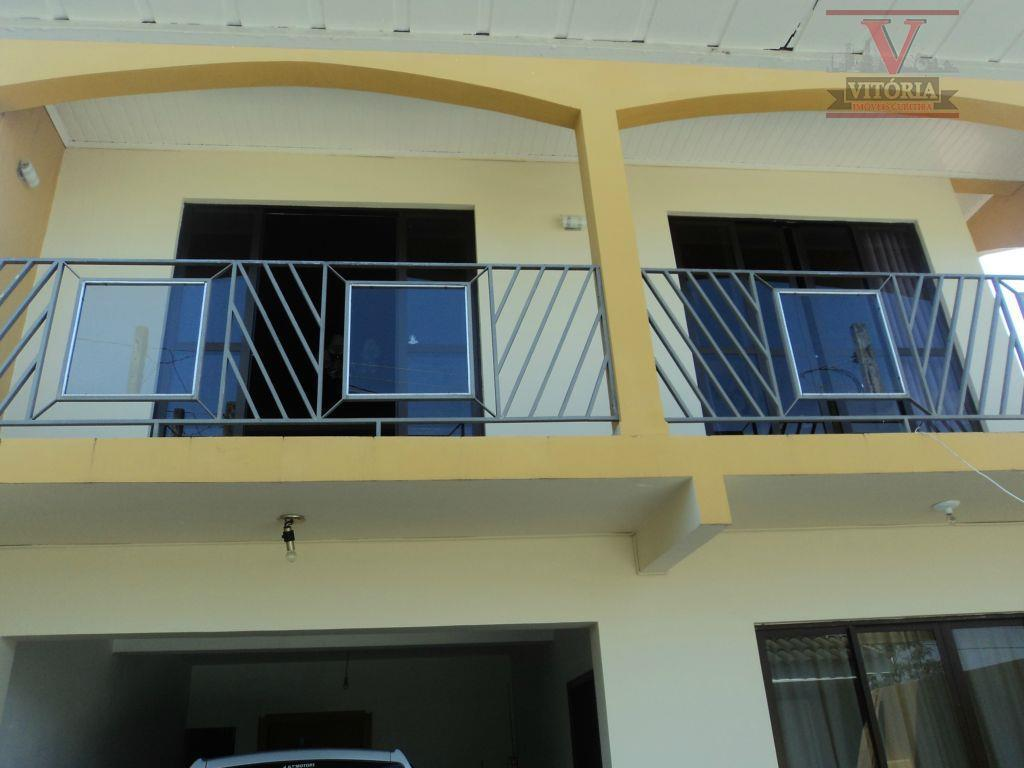 Sobrado residencial à venda, Campo Comprido, Curitiba - SO0226.
