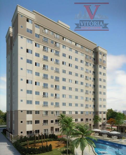Apartamento residencial à venda, Pinheirinho, Curitiba - AP0696.