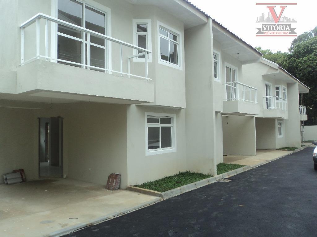 Sobrado residencial à venda, Vista Alegre, Curitiba - SO0204.
