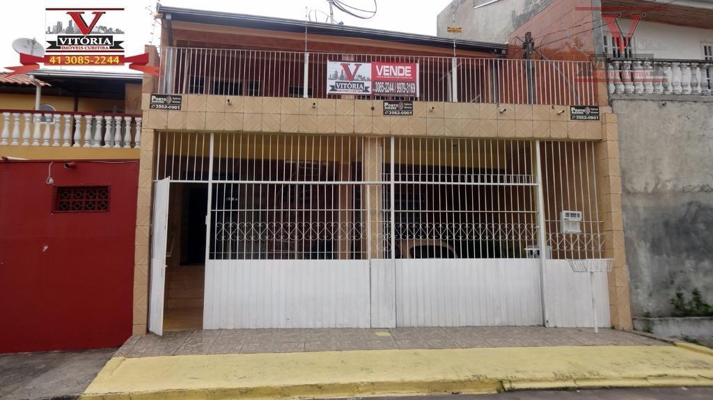Sobrado residencial à venda, Pinheirinho, Curitiba - SO0245.