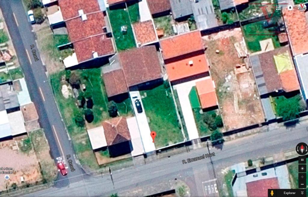 Terreno à venda, Aristocrata, São José dos Pinhais - TE0106.