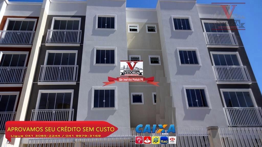 Apartamento Cruzeiro, São José dos Pinhais - prox. rua XV de Novembro..