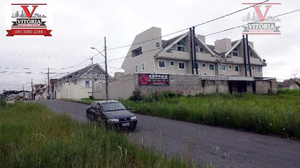 Terreno residencial à venda, Atuba, Curitiba - TE0118.