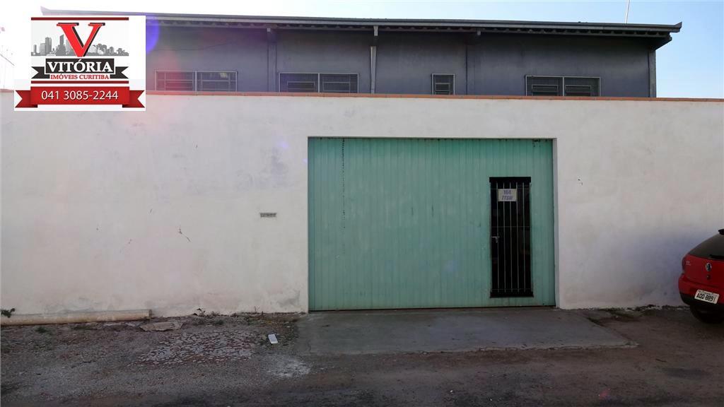Barracão galpão industrial à venda, Boqueirão, Curitiba - BA0003.