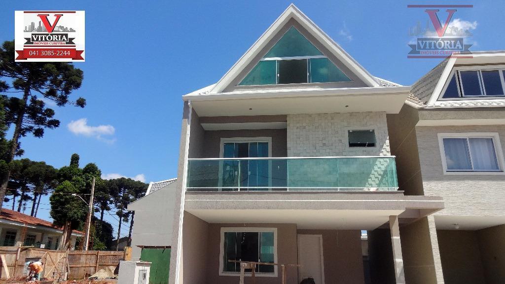 Sobrado à venda, Boqueirão, Curitiba - aceita apartamento ate 150mil como parte de pagamento