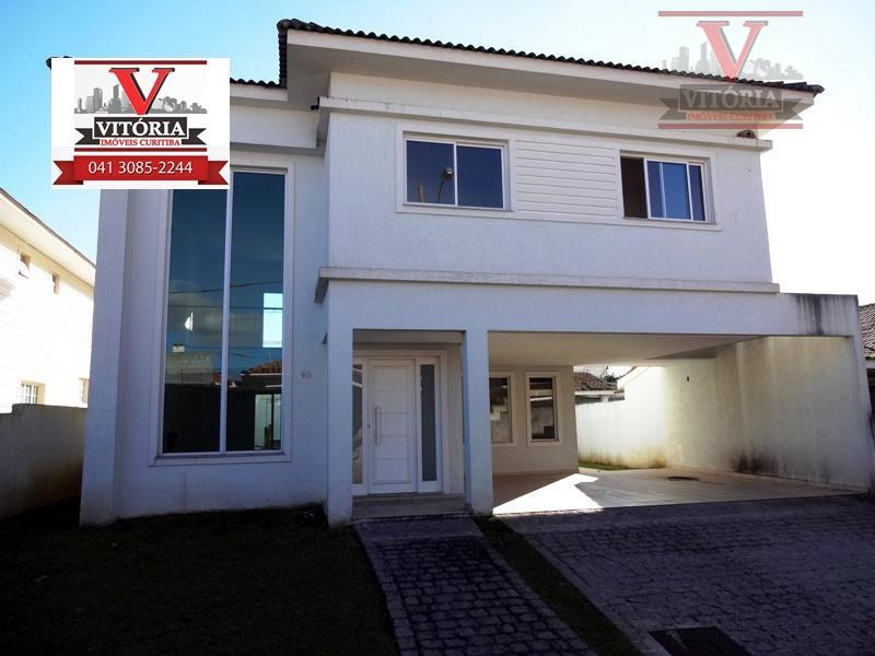 Sobrado residencial à venda, Santa Felicidade, Curitiba - CA0012.