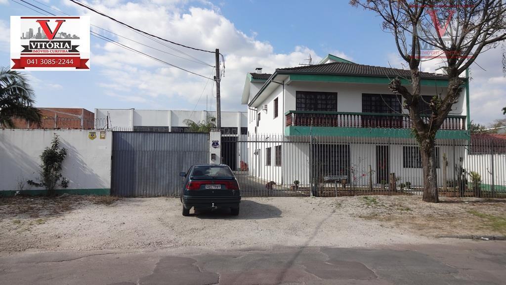 2 Barracões Industriais com Terreno e Sobrado à venda, Boqueirão, Curitiba - BA0009.
