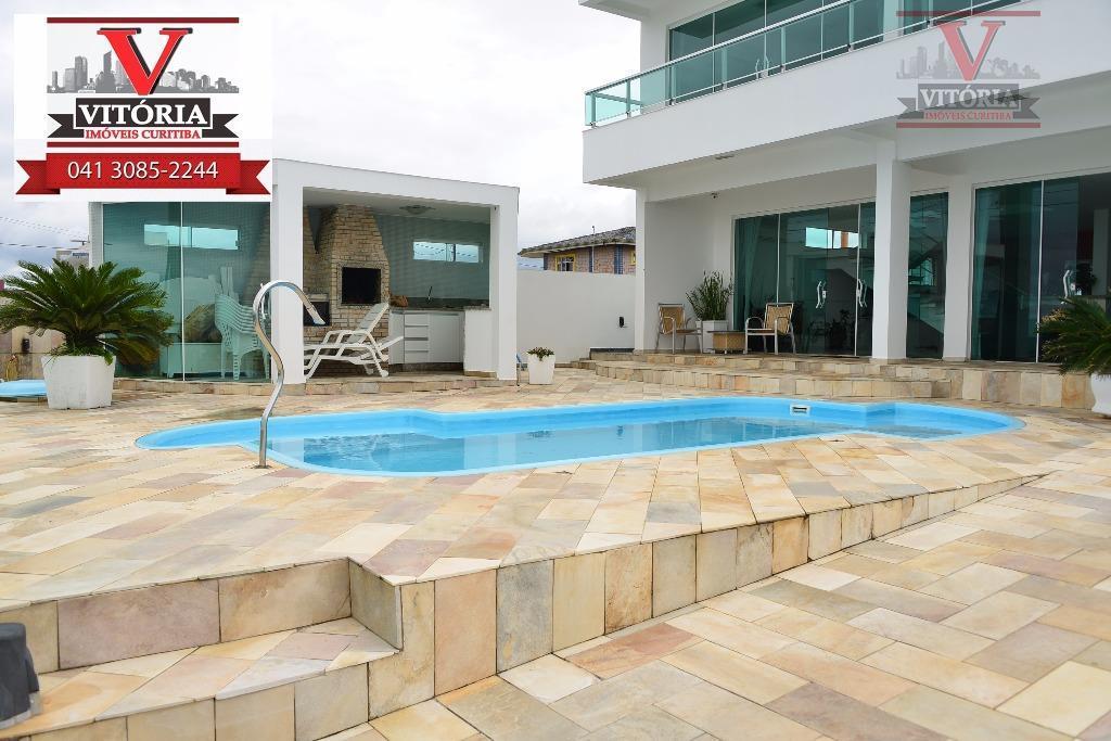 Casa com terreno de esquina, à venda, Balneário Caravela I, Matinhos - CA0239.