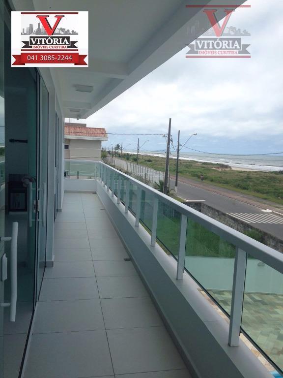 Casa + terreno de esquina, à venda, Balneário Caravela I, Matinhos - CA0239.