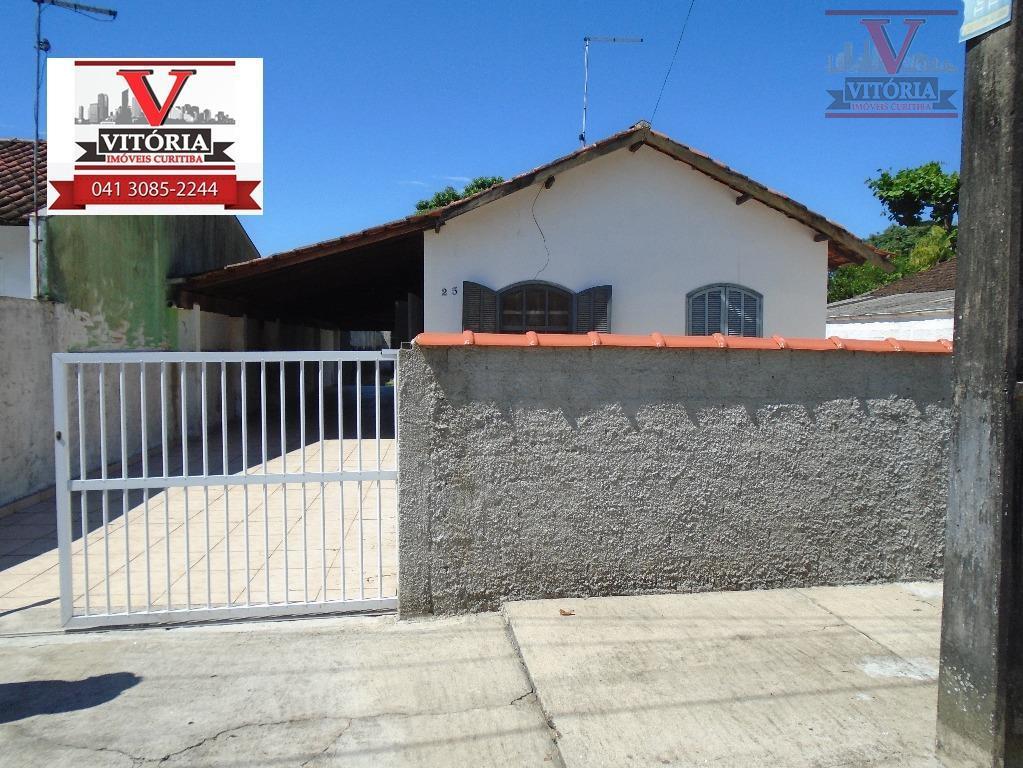 Matinhos - Casa na praia com 520m² de terreno à venda -  CA0248.
