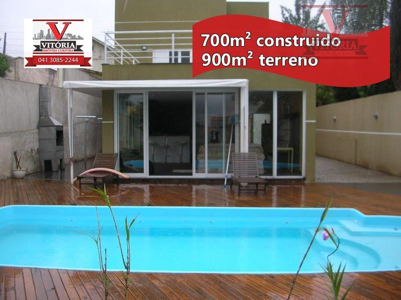 Casa com terreno 900m² à venda, Portão, Curitiba