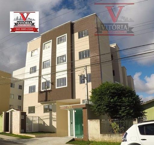 Apartamento residencial à venda, Boneca do Iguaçu, São José dos Pinhais - AP0507.