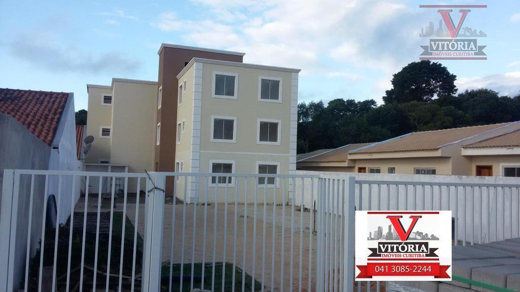 Apartamento à venda, Roseira, São José dos Pinhais - Minha Casa Minha Vida