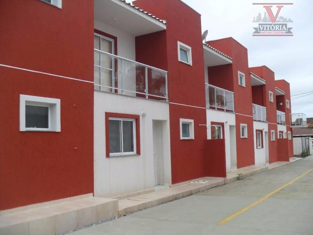 Sobrado residencial à venda, Balneário de Inajá, Matinhos - SO0233.