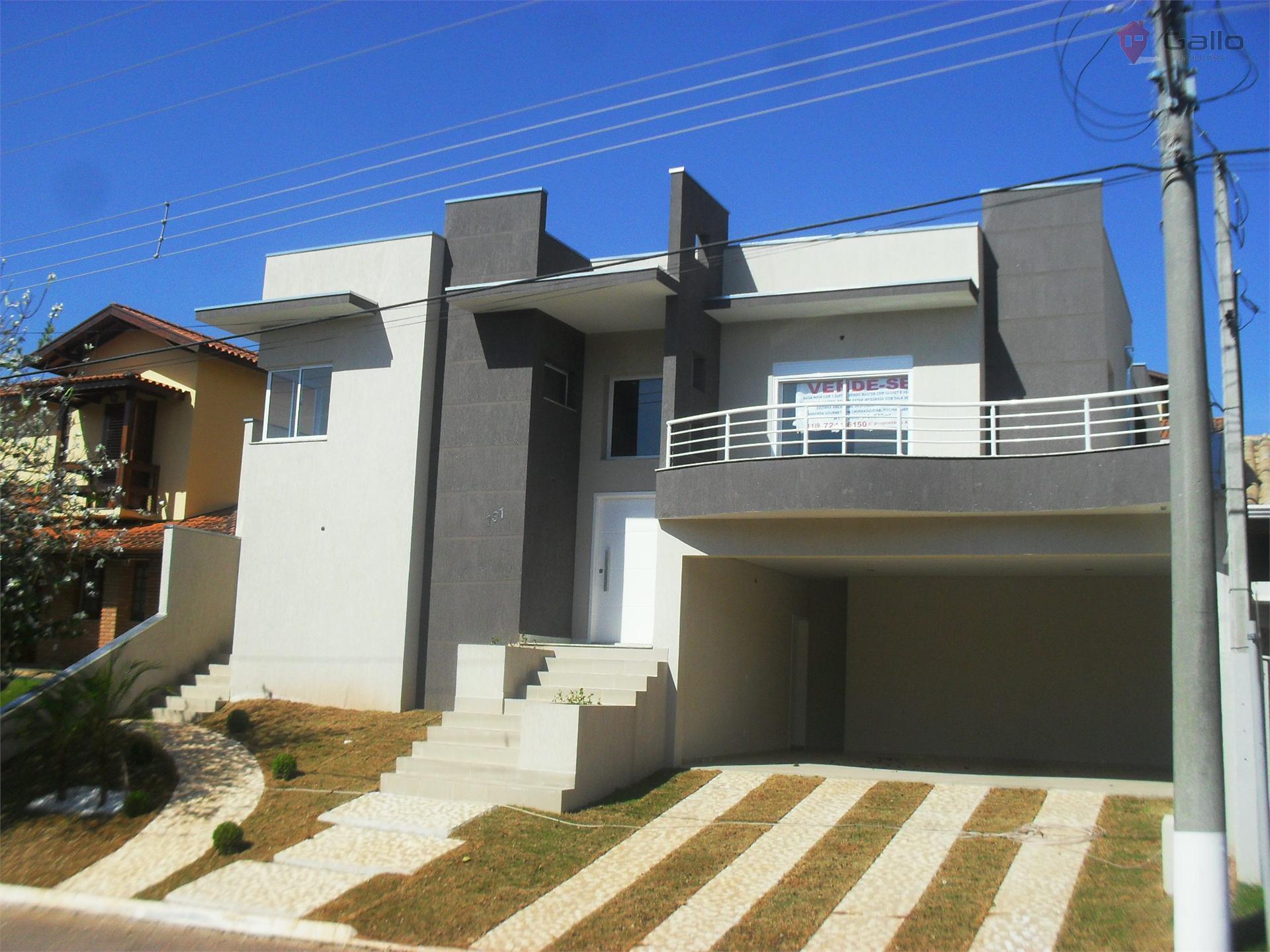 Casa residencial para venda e locação, Condomínio Villagio Capriccio, Louveira - CA1310.