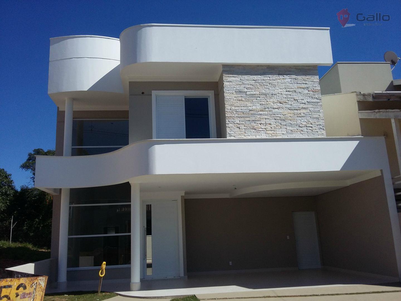 Casa residencial à venda, Condomínio Vila di Treviso, Vinhedo - CA1538.