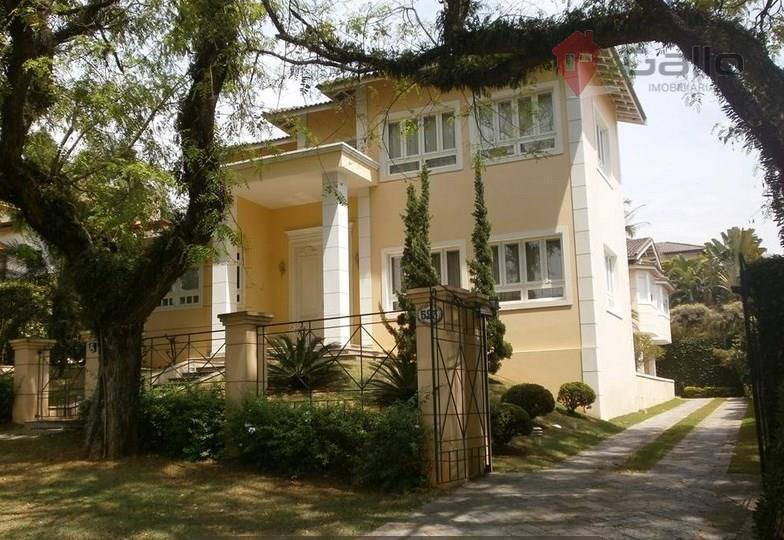 Casa residencial para venda e locação, Condomínio Vista Alegre - Sede, Vinhedo.