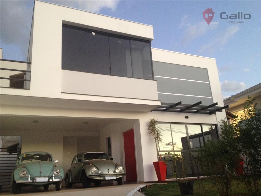 Casa  residencial à venda, Condomínio Portal do Jequitibá, Valinhos.