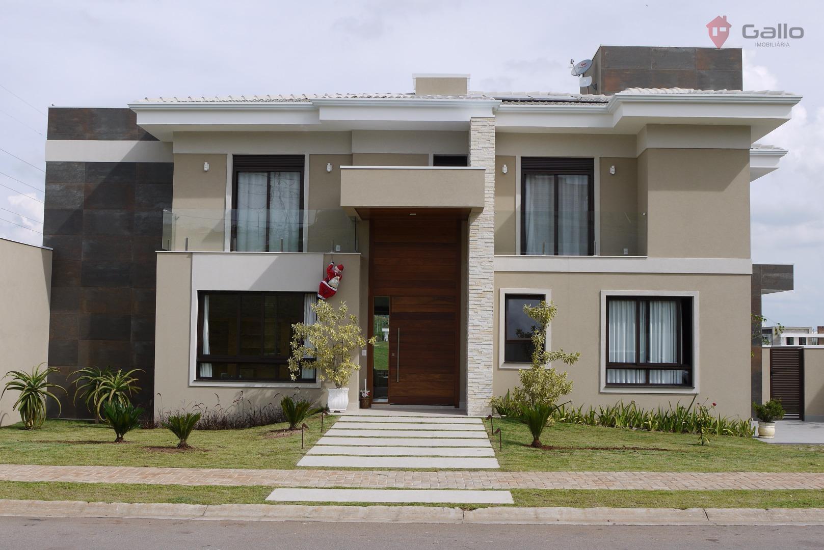 Casa residencial à venda, Condomínio Campo de Toscana, Vinhedo - CA2530.