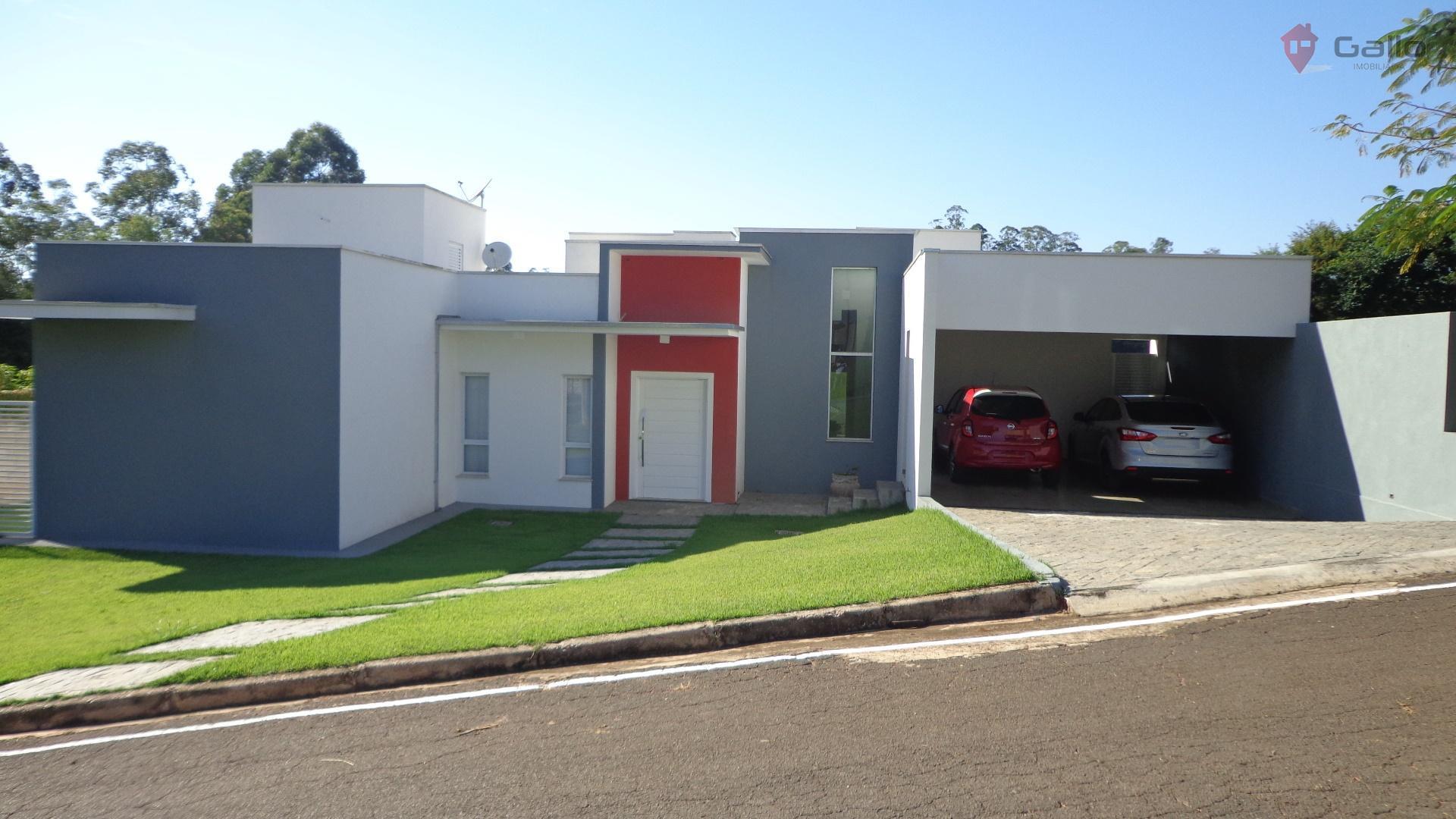 Casa residencial à venda, Condomínio Santa Tereza, Itupeva - CA2603.